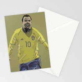 Dare to Zlatan Stationery Cards