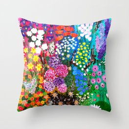 Life is a Tapestry Throw Pillow
