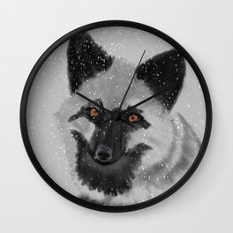 Silverfox Wall Clock