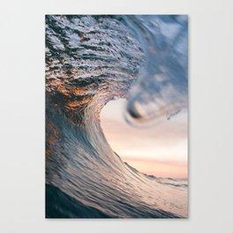 "'Fire Sunset"" Canvas Print"