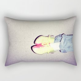 bowling shoes Rectangular Pillow