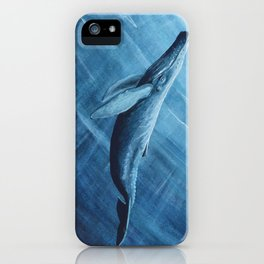 Watercolor Whale iPhone Case