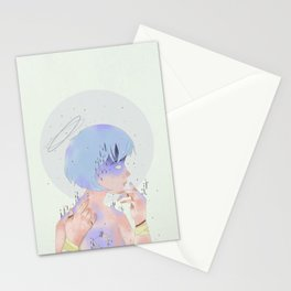 REI AYANAMI 00 Stationery Cards