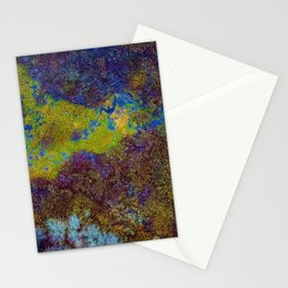 Acid Abstract Pattern (Color) Stationery Cards