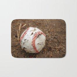 Old Baseball Bath Mat