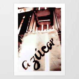 Sugar crates Art Print