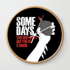 Some Days Wall Clock