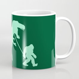 Gone Squatchin with T-rex Coffee Mug