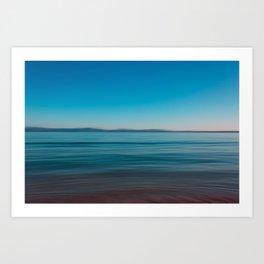 Seascape of Island Mallorca Art Print
