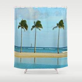 Beach Breeze Shower Curtain