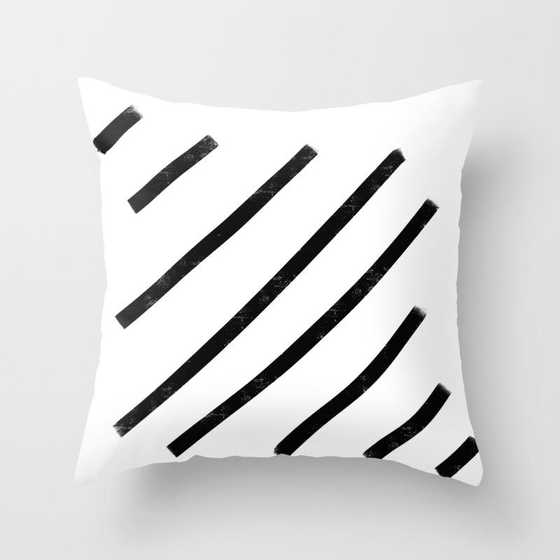 Lemme See That Line Werk Throw Pillow by Soyalmondmilk PLW8286541
