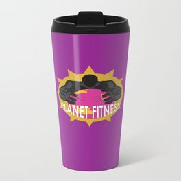 Planet Fitness Travel Mug