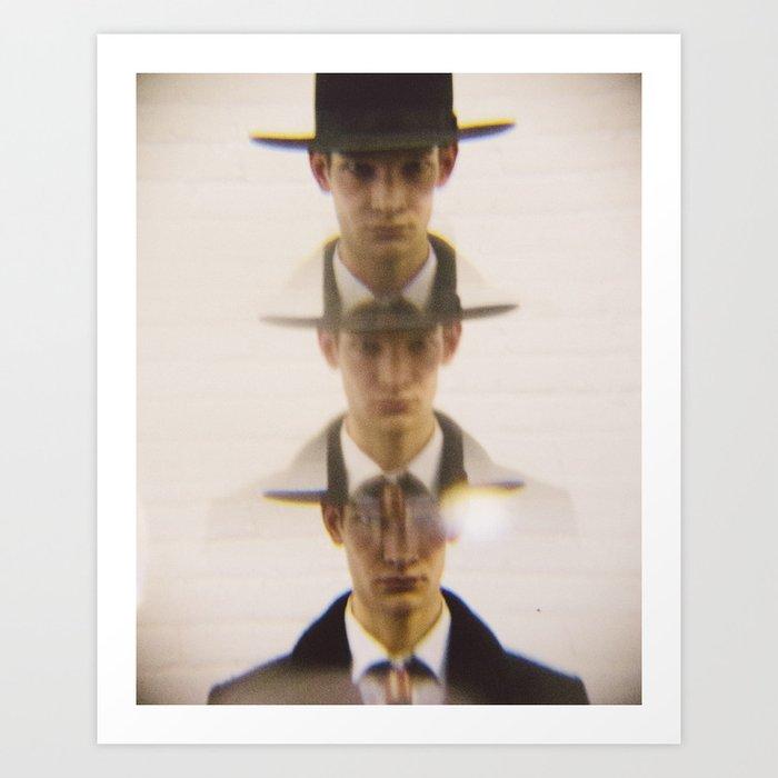 3 Hats Art Print