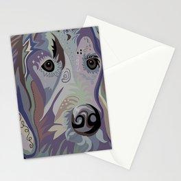 Retriever Denim Tones Stationery Cards