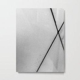 XOX Metal Print