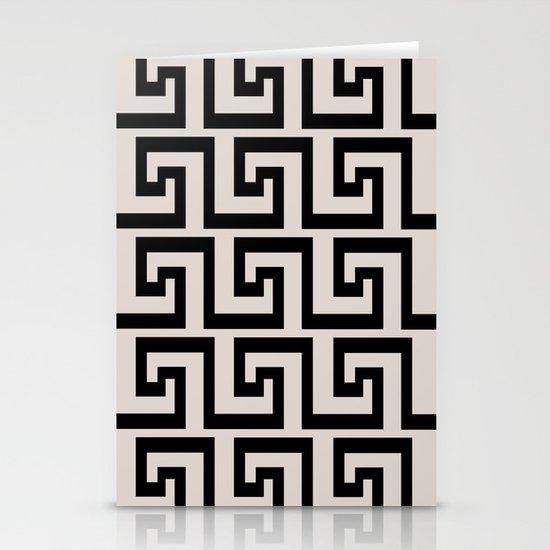Greek Key Stationery Cards