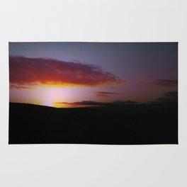 Sunset on the African Plains Rug