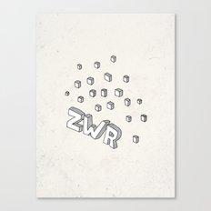 ZWR sugarcubes Canvas Print