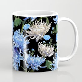Blue Mums Design — L Diane Johnson Coffee Mug