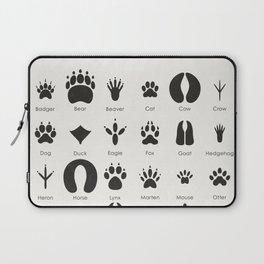 Common Animal Tracks Laptop Sleeve