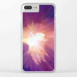 In the Confusion Clear iPhone Case