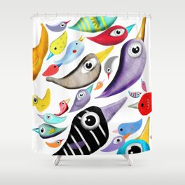 Birds Home Decor Collection Shower Curtain