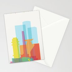 Shapes of Tel Aviv Stationery Cards