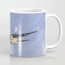 Finnair Airbus A321 Art Coffee Mug