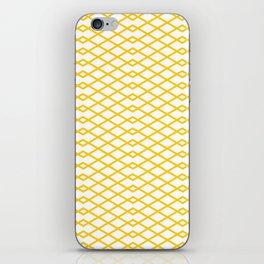 Yellow Diamonds in the Sky iPhone Skin