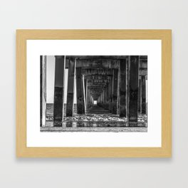 Through the Eye Framed Art Print