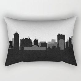 City Skylines: Winnipeg Rectangular Pillow
