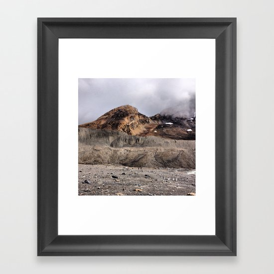 Moon Rock Framed Art Print