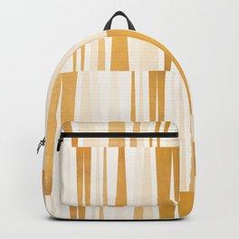 BEACHING PATTERN GOLD Backpack