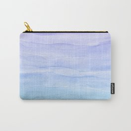 Layers Blue Ombre - Watercolor Abstract Carry-All Pouch