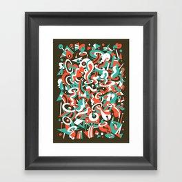Schema 8 Framed Art Print