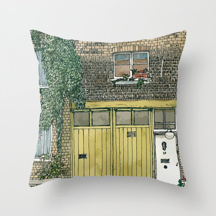 MEWS 2 Throw Pillow