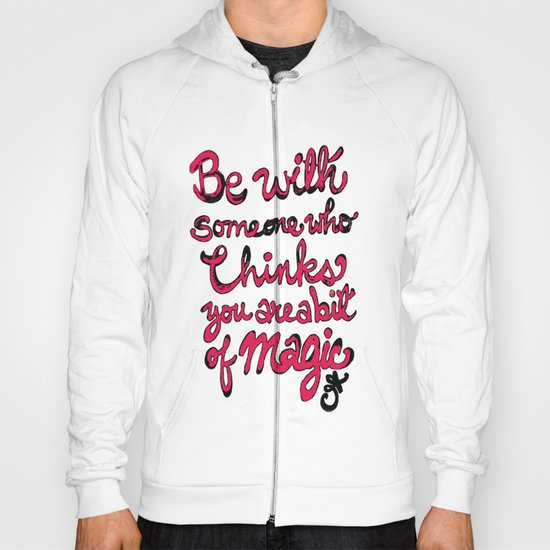 Be With Someone Hearty! Be With Someone's Heart Hoody