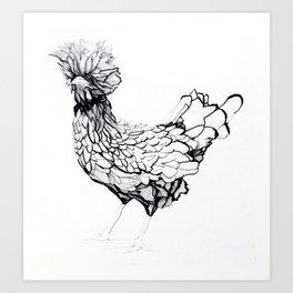Roger - Henhouse Series Art Print