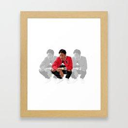 Travis Scott Framed Art Print
