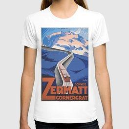 Vintage poster - Zermatt T-shirt