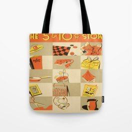 Vintage poster - Five and Dime Tote Bag