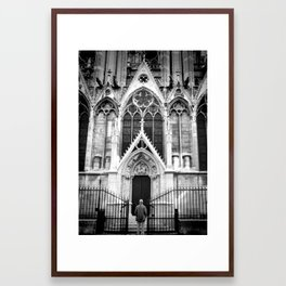 Awesome Notre Dame Framed Art Print
