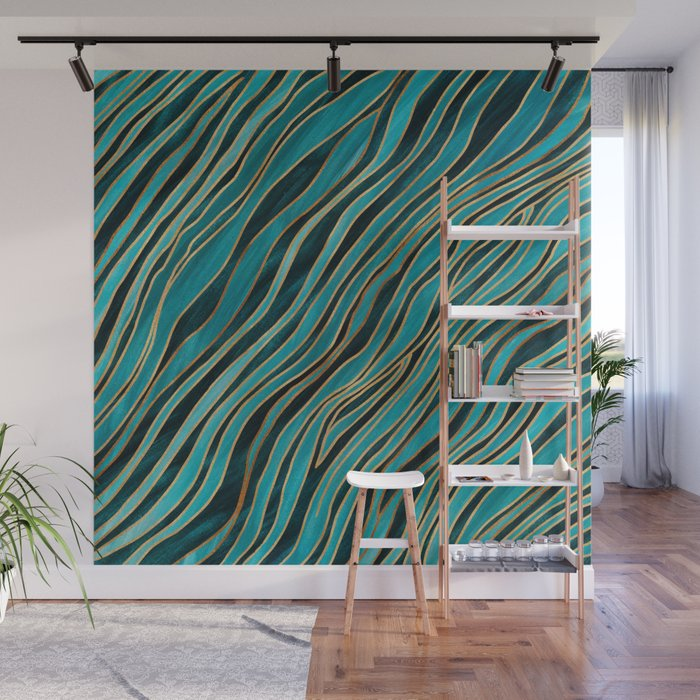 Ocean Currents Wall Mural