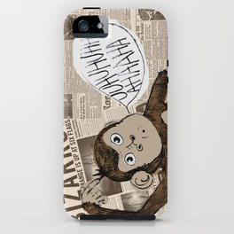 Bizarro Monkey iPhone Case