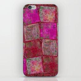 Ardor Collage (Pink & Red) iPhone Skin