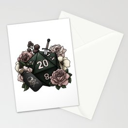 Rogue Class D20 - Tabletop Gaming Dice Stationery Cards