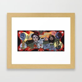 Sideshow Freaks Framed Art Print
