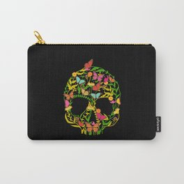 Scull Flower Carry-All Pouch