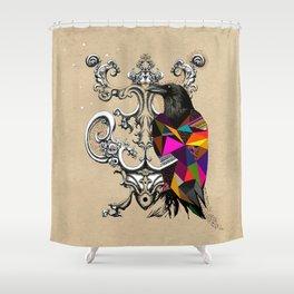 RAVEN COLOR  Shower Curtain