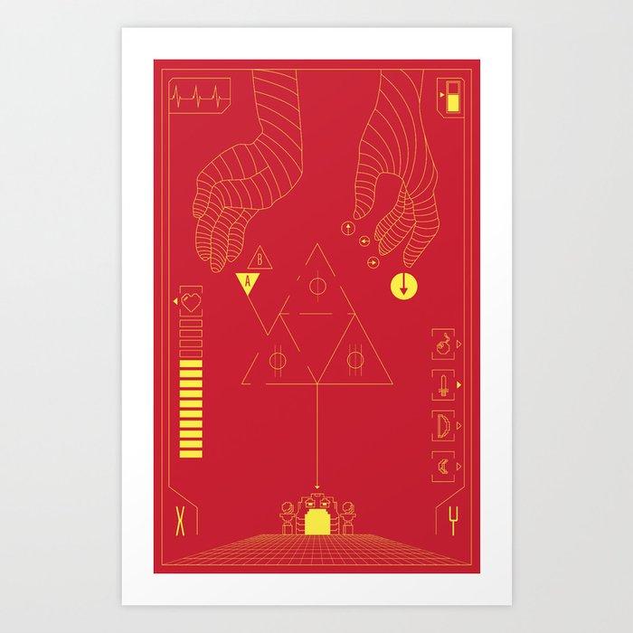 Future Game Art Print